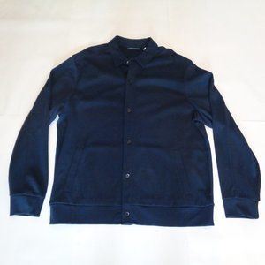 Perry Ellis Size XL Blue New Mens Button Jacket